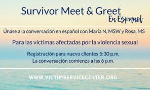 Survivor Meet & Greet Details